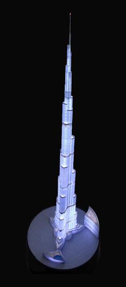 Scale Model - Architectural - Towers - Burj Khalifa Tower - Dubai