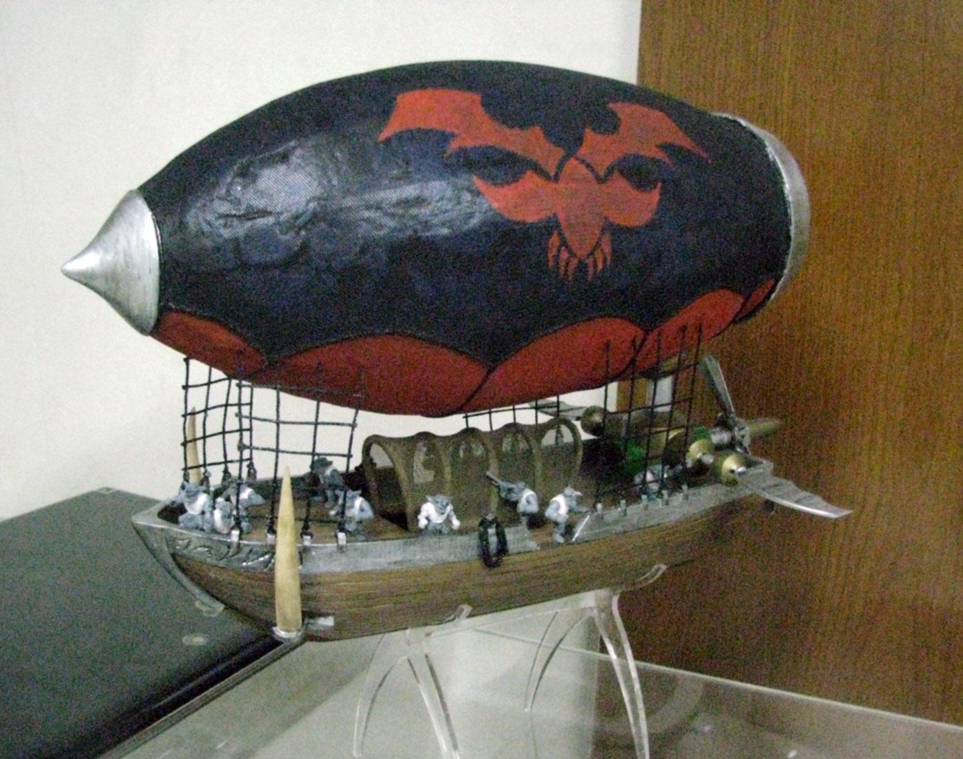 Scale model -  Ship - Zippeline
