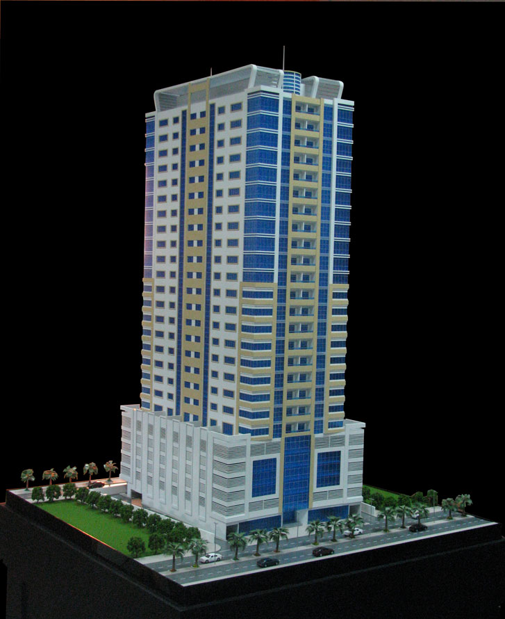 Scale Model - Architectural - Towers - HC Tower - UAE