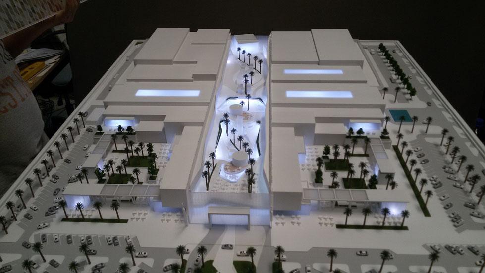 Scale Model - Architectural - Building - Ajman mall - UAE
