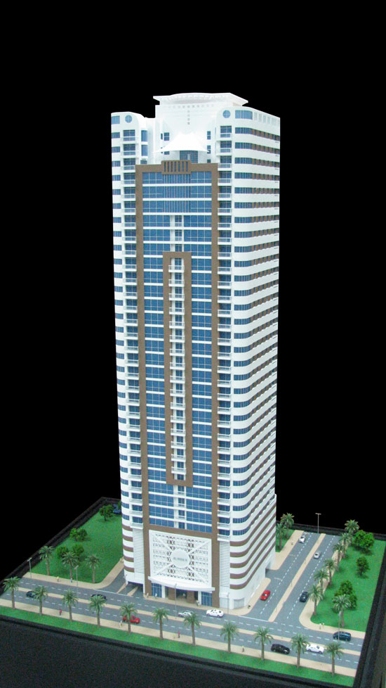 Scale Model - Architectural - Towers - Al Huda 2 Tower- UAE