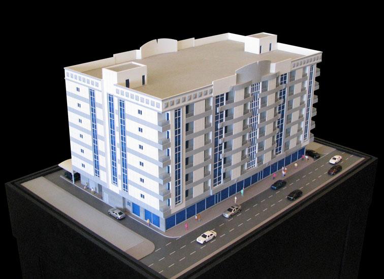 Scale Model - Architectural - Buildings - Al Wahda - UAE