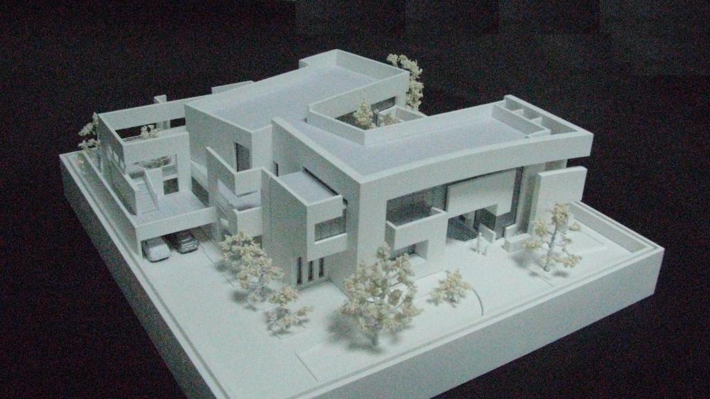 Scale Model - Architectural - Villas - Villa concept- UAE