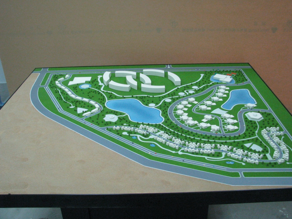 Scale Model - Architectural - Master plan - UAE