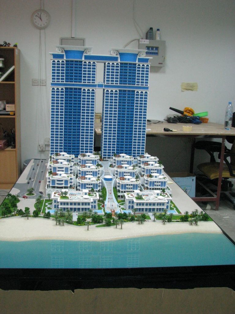Scale Model - Architectural - Towers - Royal Bay Towers - UAE