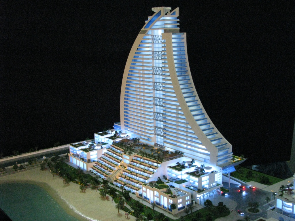 Scale Model - Architectural - Towers - Royal Lagoon tower - UAE