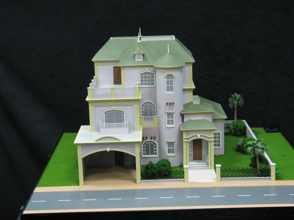 Scale Model - Architectural - Villas - Villa type 4 - UAE