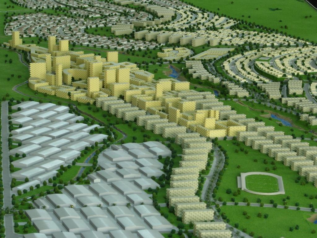 Scale Model - Architectural - Master plan CAOTA - UAE