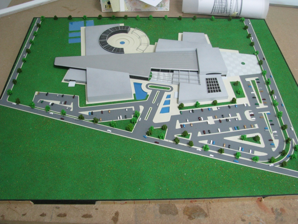 Scale Models - Architectural - Building - Library student project