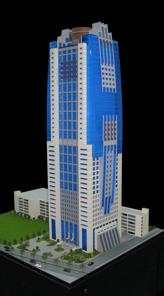 Scale Model - Architectural - Towers - Burj Al Saqr Tower - UAE