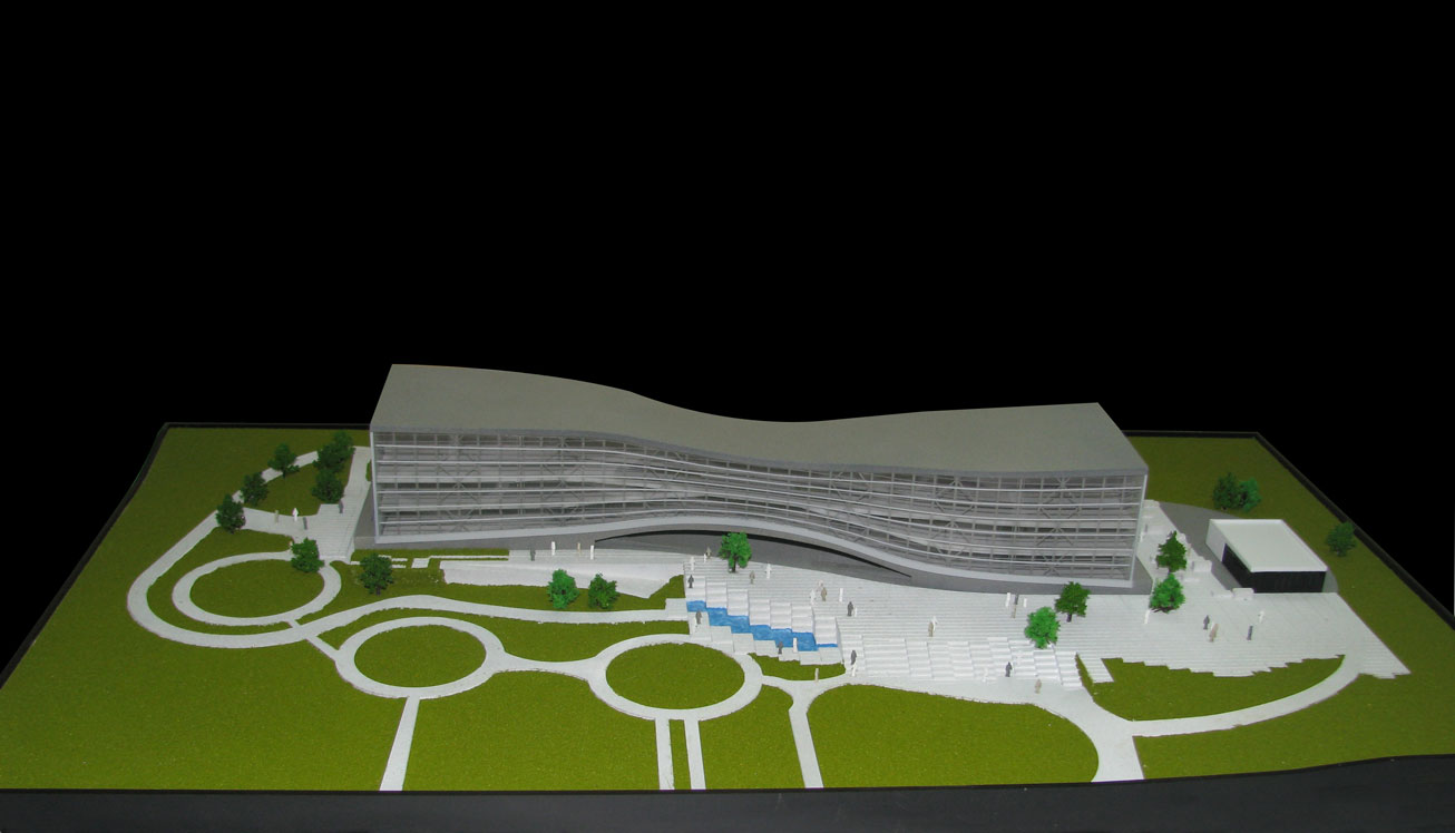 Scale Model - Architectural - Buildings - Business centre - UAE