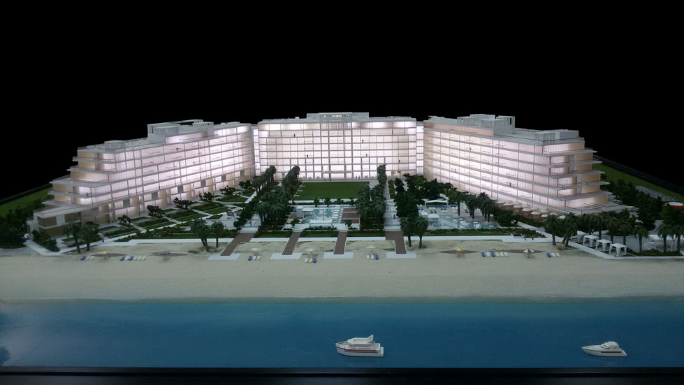 Scale Model - Architectural - Buildings - C14 Palm Jumairah - UAE