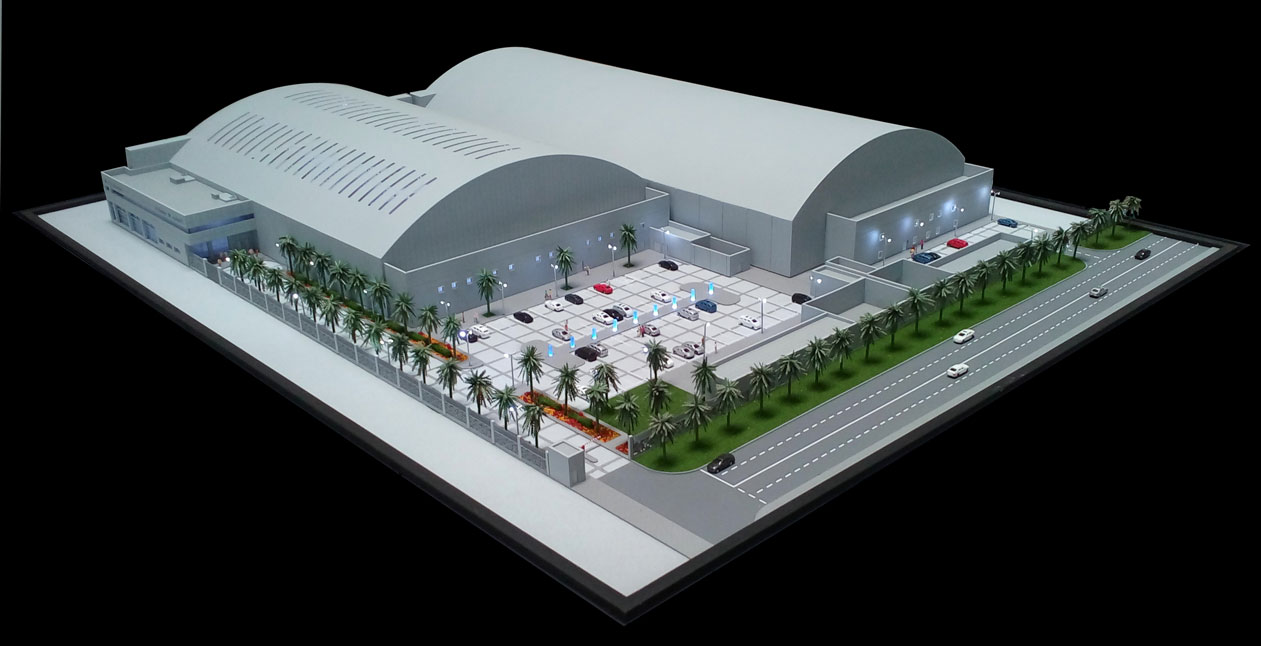 Scale Models - Aviation - DC Aviation hangar