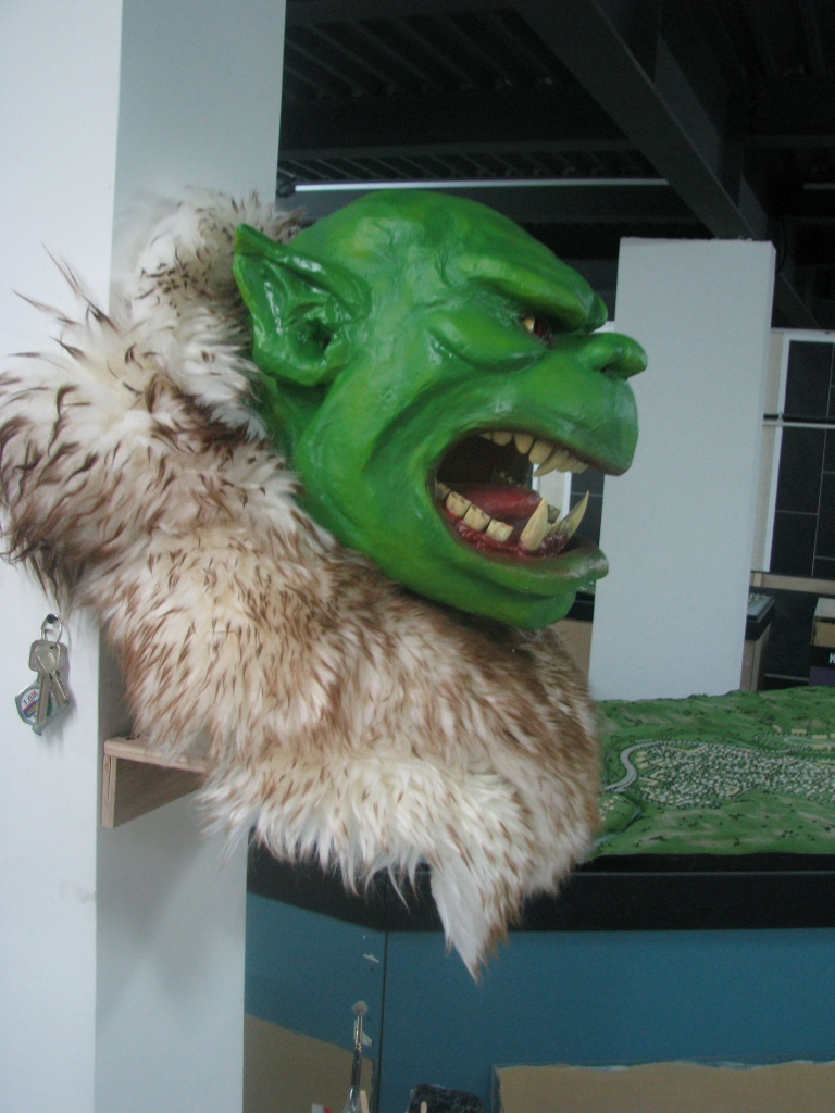 Figures - Orc head