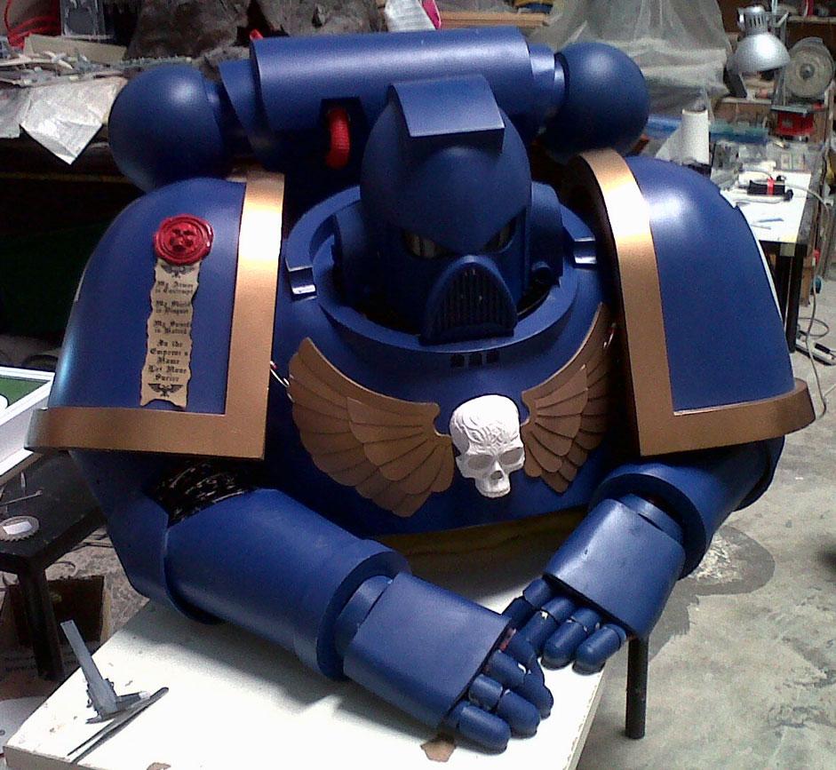 Figures - Costumes - Space Marine costume