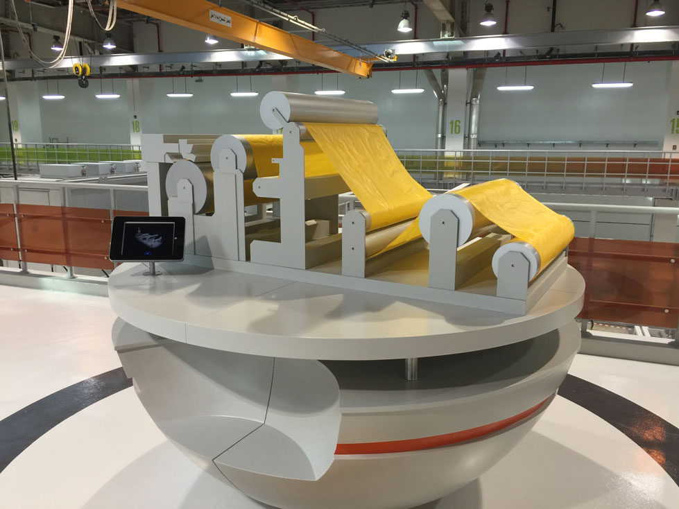 Scale Model - Industrial - Borouge models - Cust film