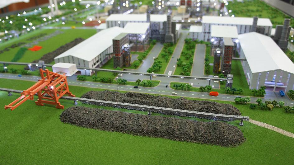 Scale Model - Industrial - Jindal Bolivia Steel & Power