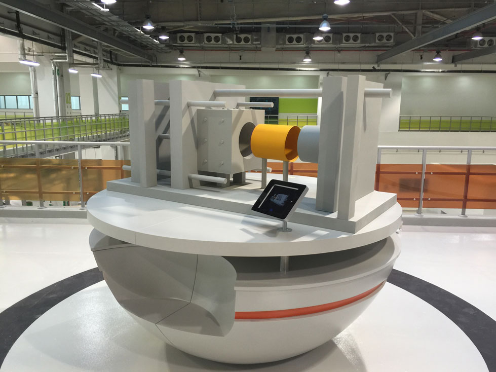 Scale Model - Industrial - Borouge models - Injection molding