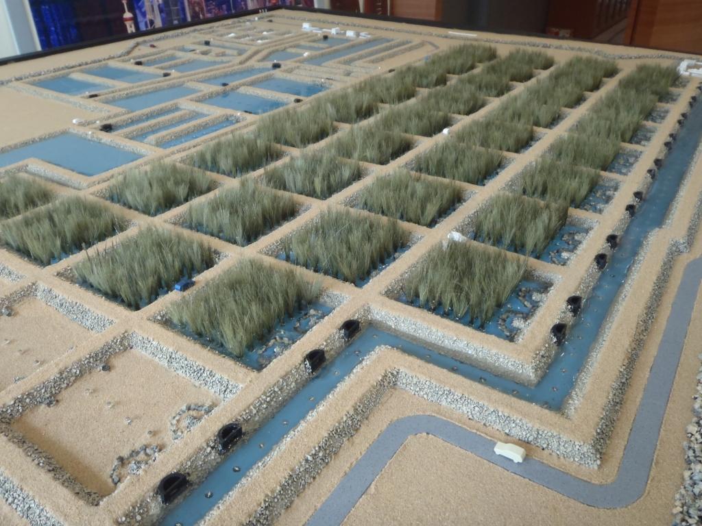 Scale Model - Industrial - Master plan  - NIMR REED - Oman - 1