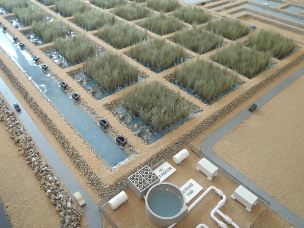 Scale Model - Industrial - Master plan  - NIMR REED - Oman - 2