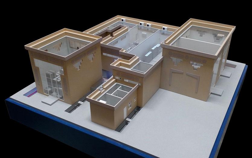 Scale Model - Industrial - Suweihan substation