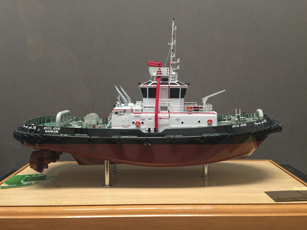 Scale model -  Ship - Tag boat - Atco joud