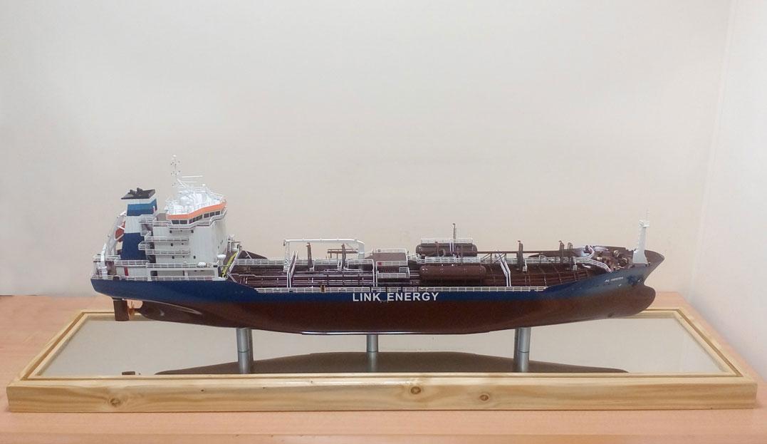 Scale model -  Ship - Tanker - Al Heera