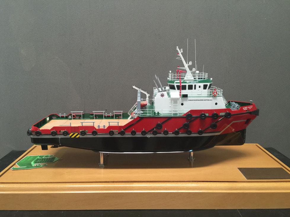 Scale model -  Ship - Tag boat - Al Rafa