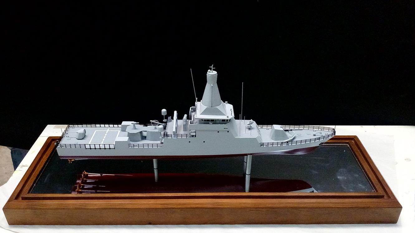 Scale model -  Ship - War ship
