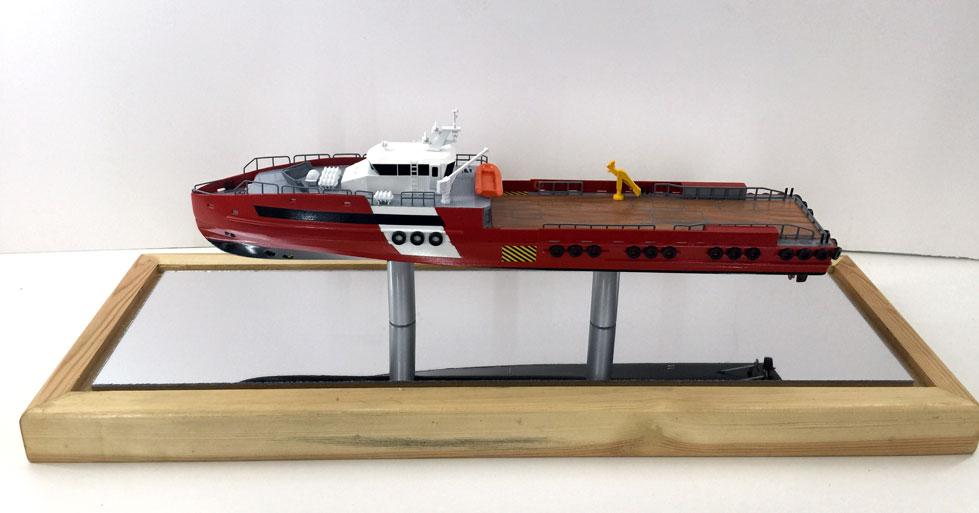 Scale model -  Ship - Rescue boat