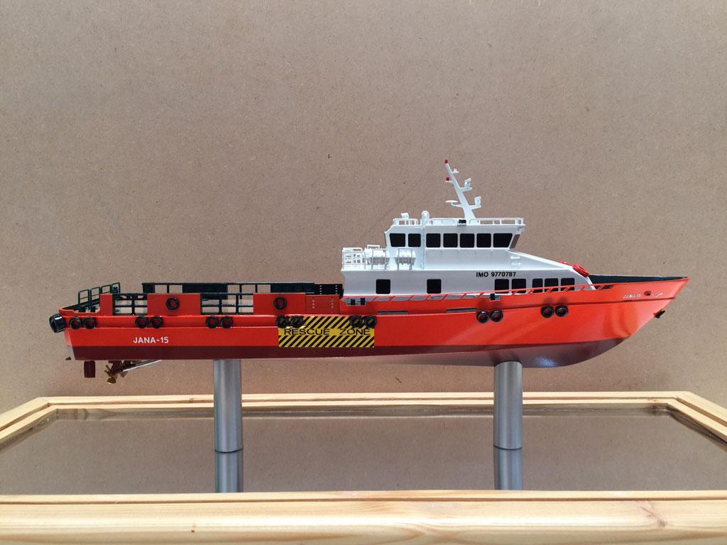 Scale model -  Ship - Jana 14
