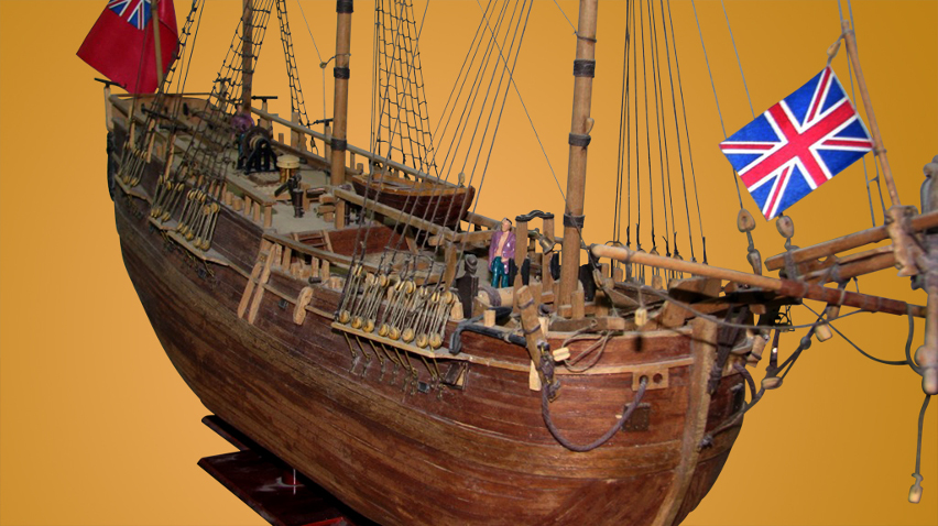 Scale model -  Ship - Old ship