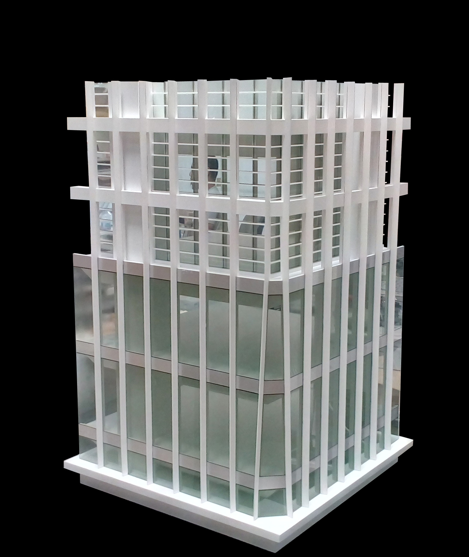 Scale Model - Architectural - Tower - Qindao tower section - UAE
