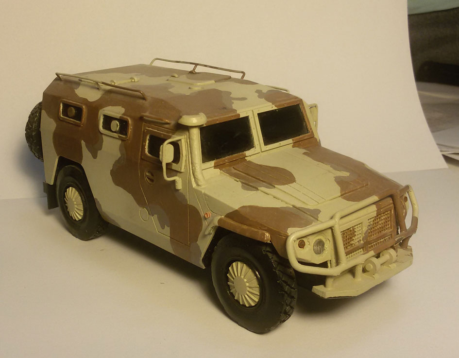 Scale Model - Vehicles - Tiger MMV