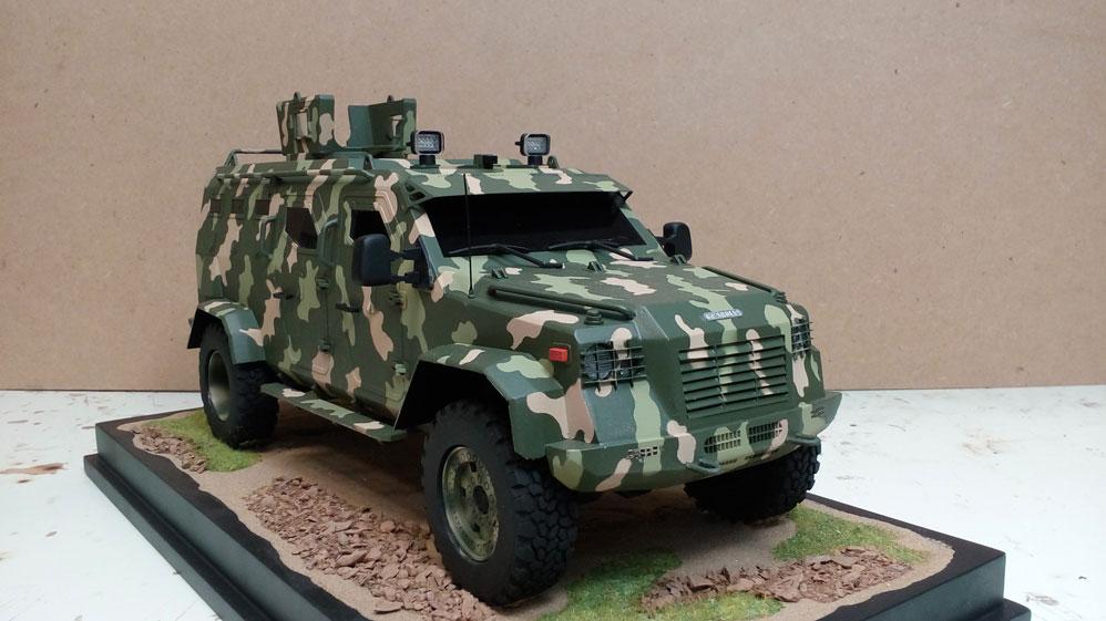 Scale Model - Vehicles - MMV Guardian