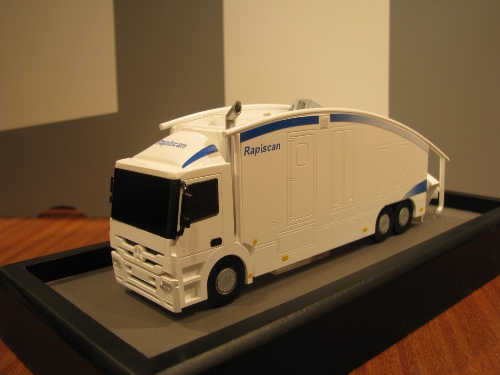 Scale Model - Vehicles -  Scanner truck