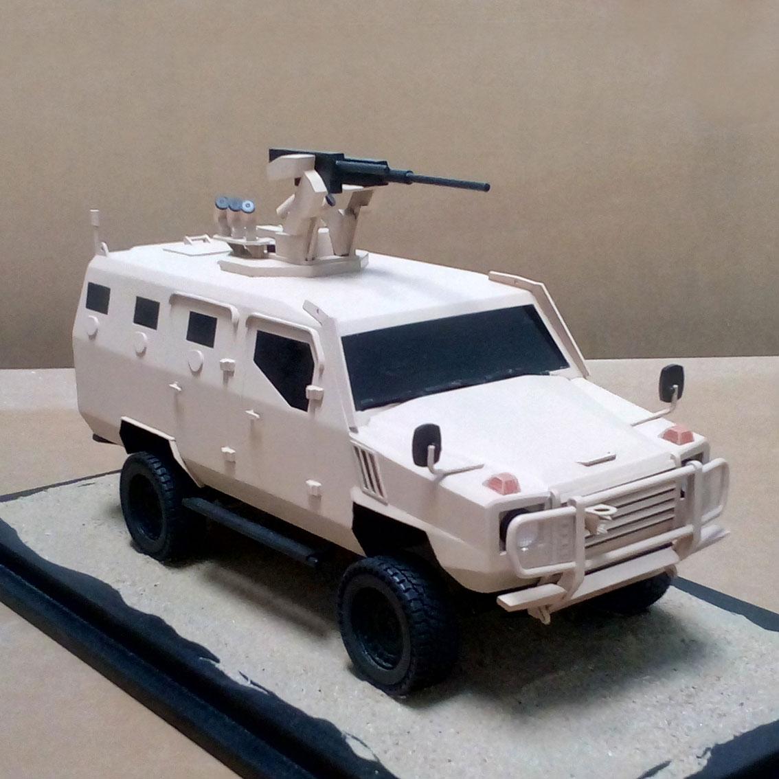 Scale Model - Vehicles - STI Multi Mission Vehicle