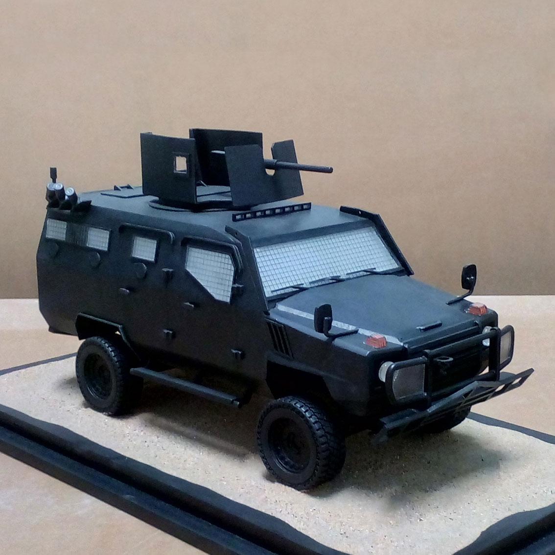 Scale Model - Vehicles - MMV STEYR