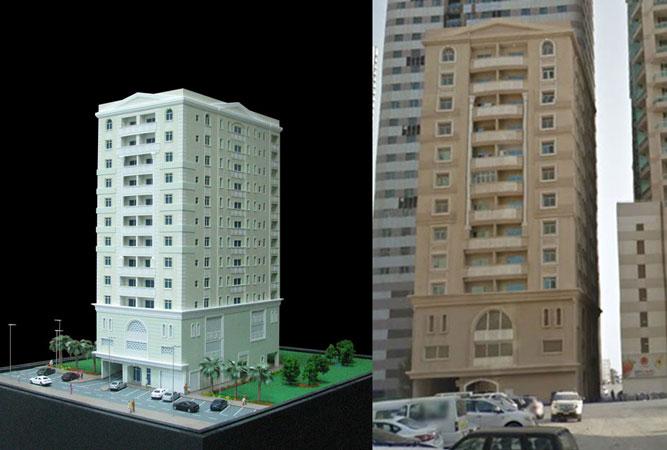 Al Huda I building model