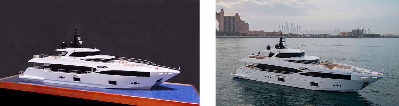 Majesty 100 yacht model
